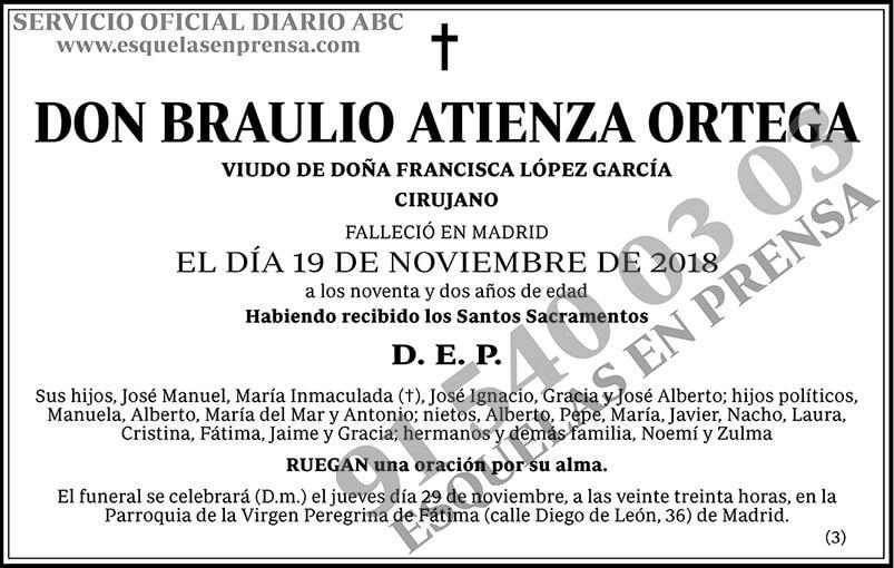 Braulio Atienza Ortega